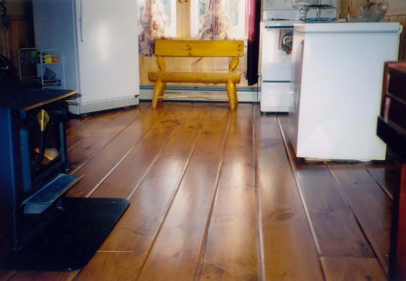 Newcombe 39 s original wide plank flooring gallery of for Country cottage floor tiles