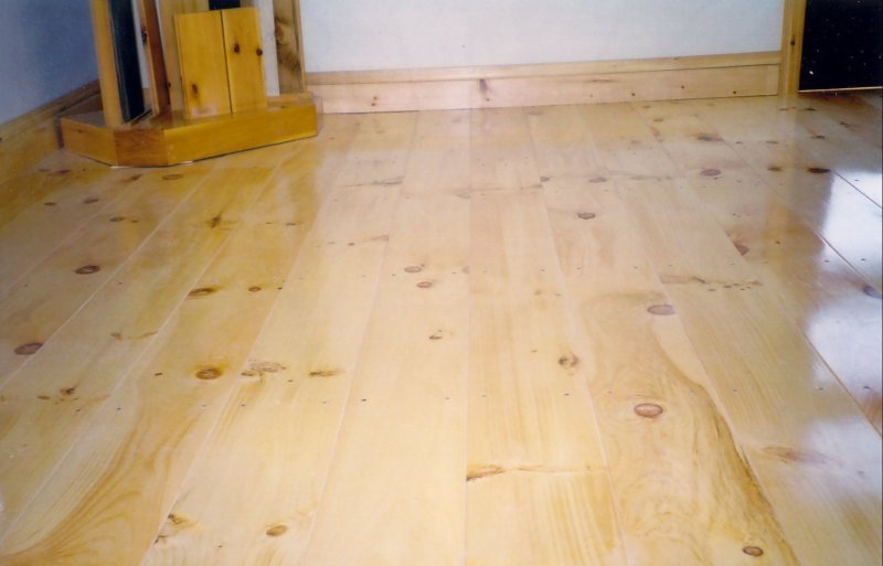 Newcombe 39 s original wide plank flooring pine flooring for Pine wood flooring